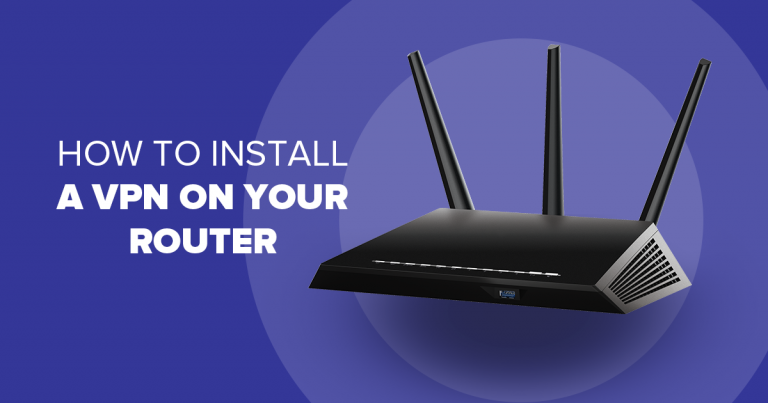 How install vpn on router