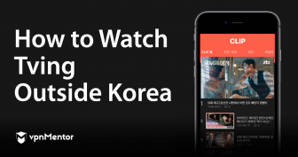 2021한국 밖에서 티빙(TVING) 시청하기